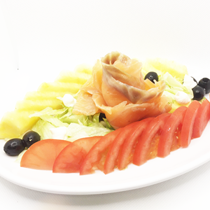 Fast Food di Pesce Insalata