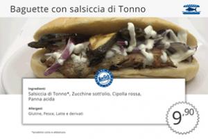 Baguette di Pesce Salsiccia di Tonno MecFish