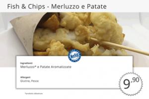 Fish e Chips di Pesce Merluzzo e Patate MecFish