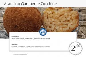 Fritti di Pesce Arancini Zucchine e Gamberi MecFish
