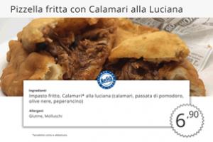 Fritti di Pesce Pizzella Fritta con Calamari MecFish
