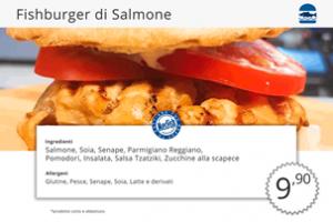 Panini di Pesce Fishburger Salmone MecFish