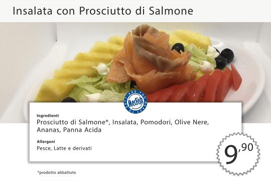 Insalata Prosciutto di Salmone MecFish Primo Fast Food di Pesce